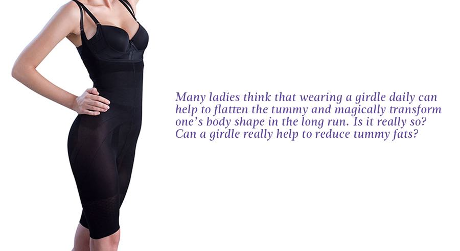 17dcccb56feef Not all ordinary girdles can help you to reduce tummy fats but some weight  loss or reshaping girdles, when worn at least a few ...