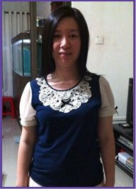 Dorra Slim before treatment of post natal weight gain 2