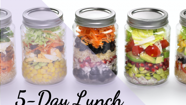 5-Day Lunch Prep in 5 Mins