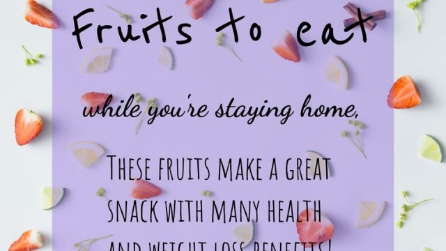 Stay Home | Fresh healthy food
