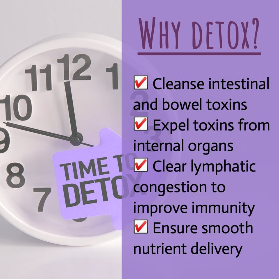 🗑️☠️ All that accumulated toxins and waste in your body have to go for all these right reasons!