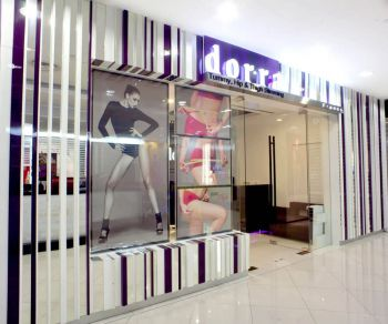 Dorra Slim Gallery entrance of lot one mall in singapore
